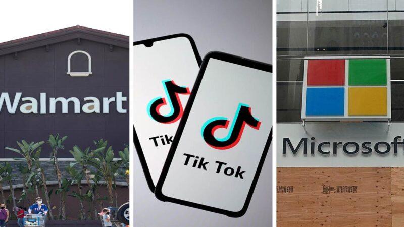 WALMART Y MICROSOFT FORMAN UNA ALIANZA: ¡TikTok está siendo negociada!